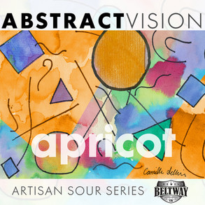 Abstract Vision Apricot