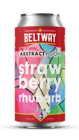 Abstract Vision Strawberry Rhubarb