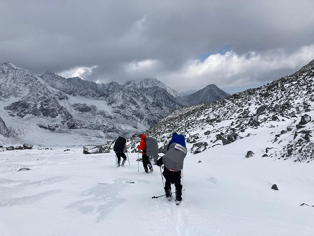 Аккемский ледник| skitour.club| Блог Сергея Чеботова
