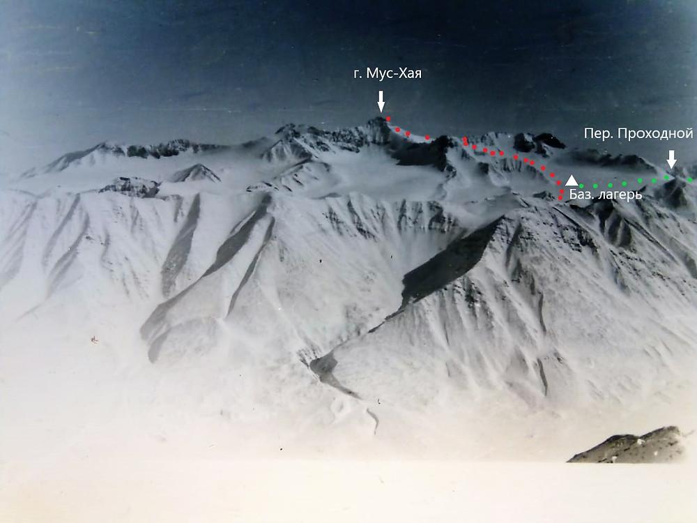 Вершина Мус -Хая| skitour.club| Блог Сергея Чеботова