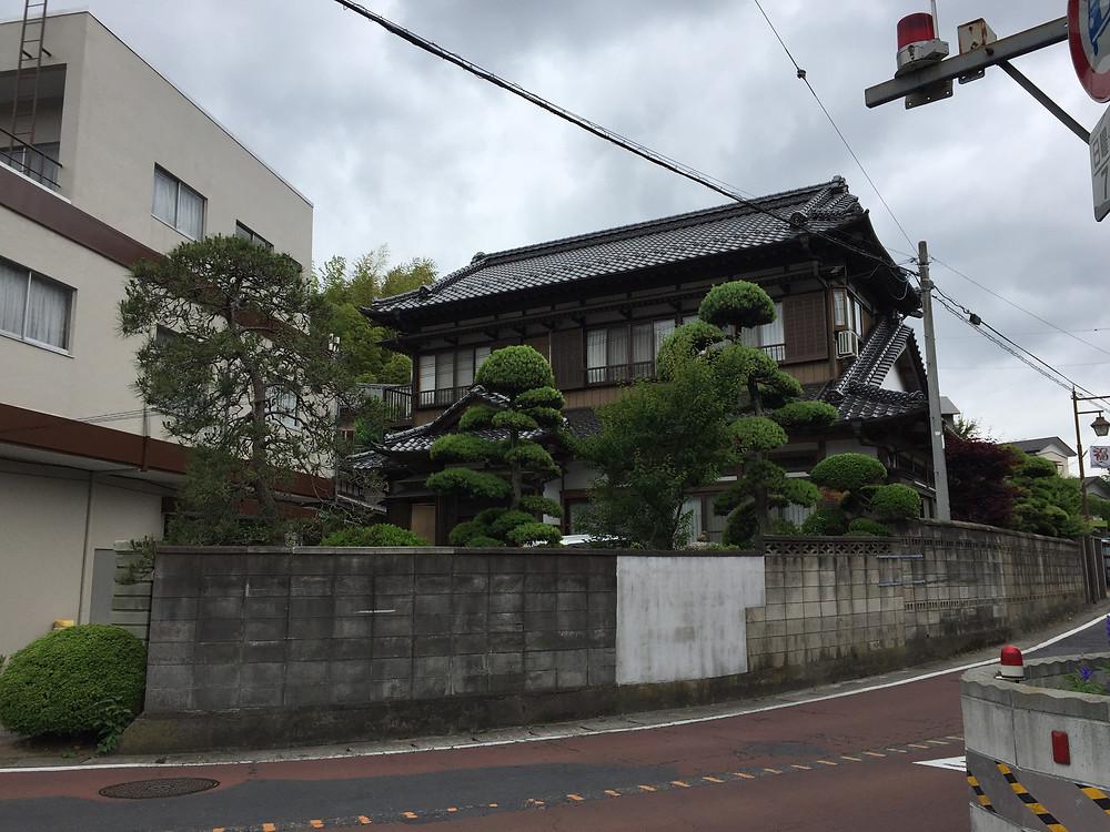 Традиционная японская архитектура.