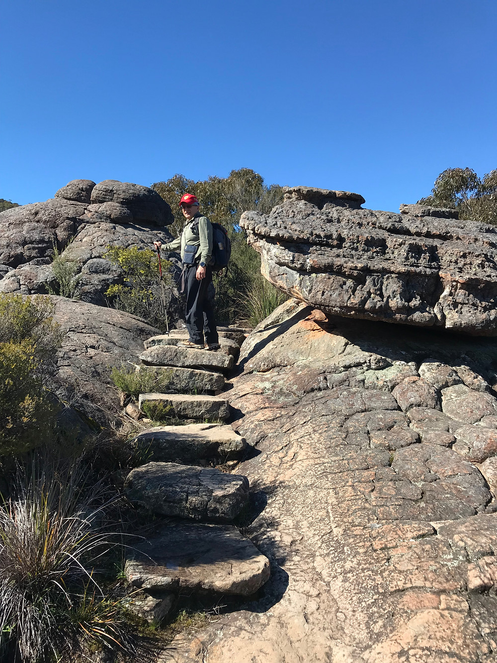 Walk to the Pinnacle