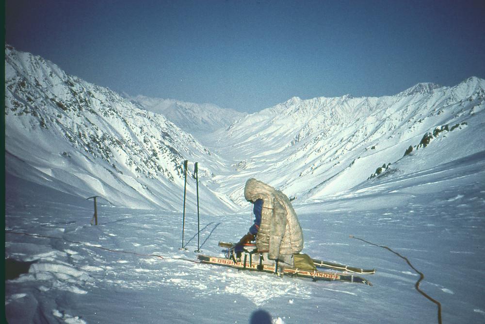 Долина реки Буордах| skitour.club| Блог Сергея Чеботова