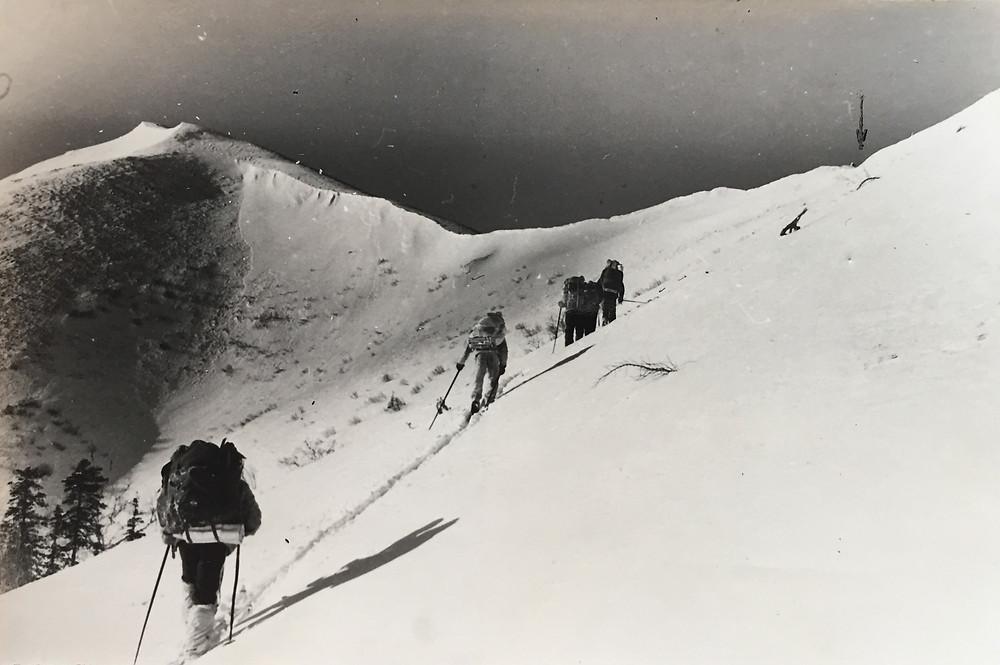 Выход на перевал| skitour.club| Блог Сергея Чеботова