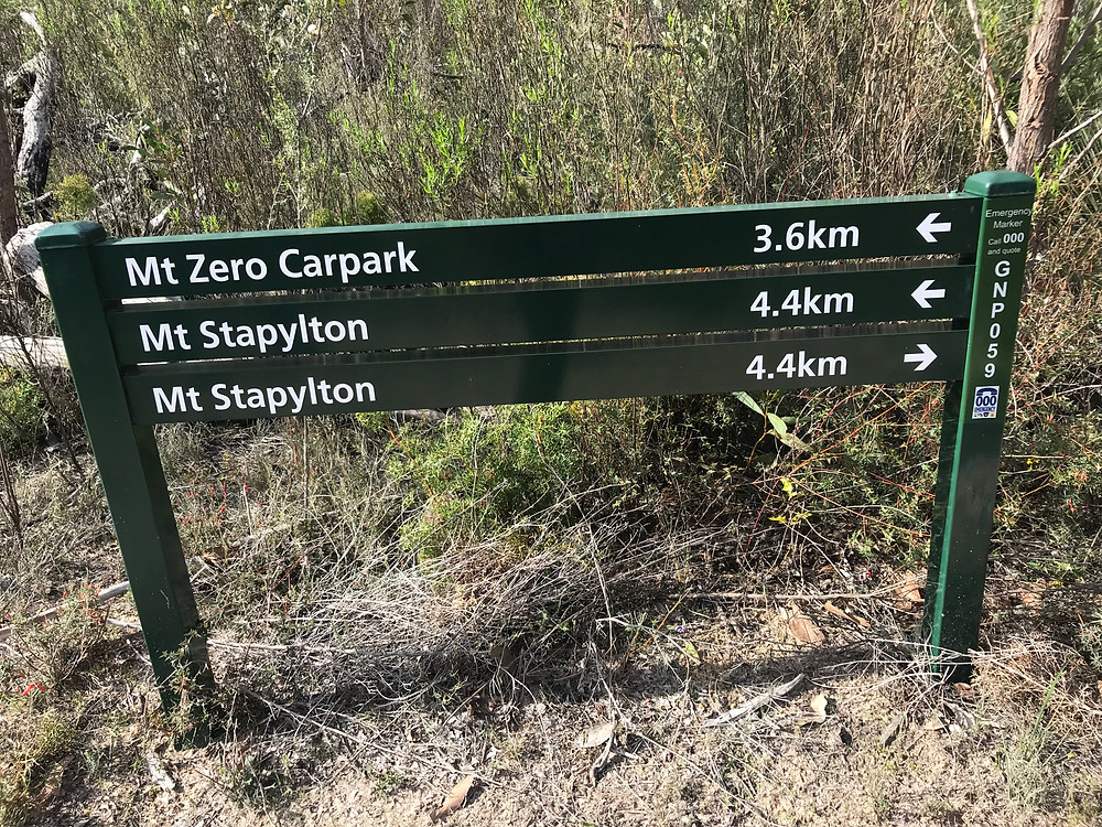 Mt. Stapylton loop