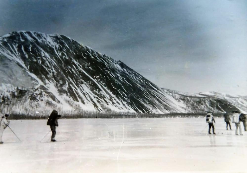 Наледь на реке Кнория| skitour.club| Блог Сергея Чеботова