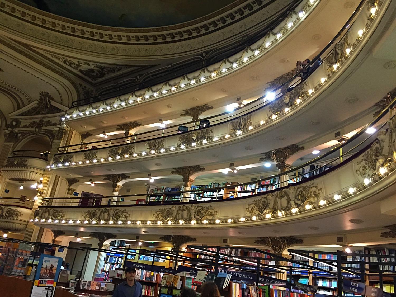 Книжный магазин Эль Атенео на улице Санта Фе — Буэнос-Айрес — Блог Сергея Чеботова