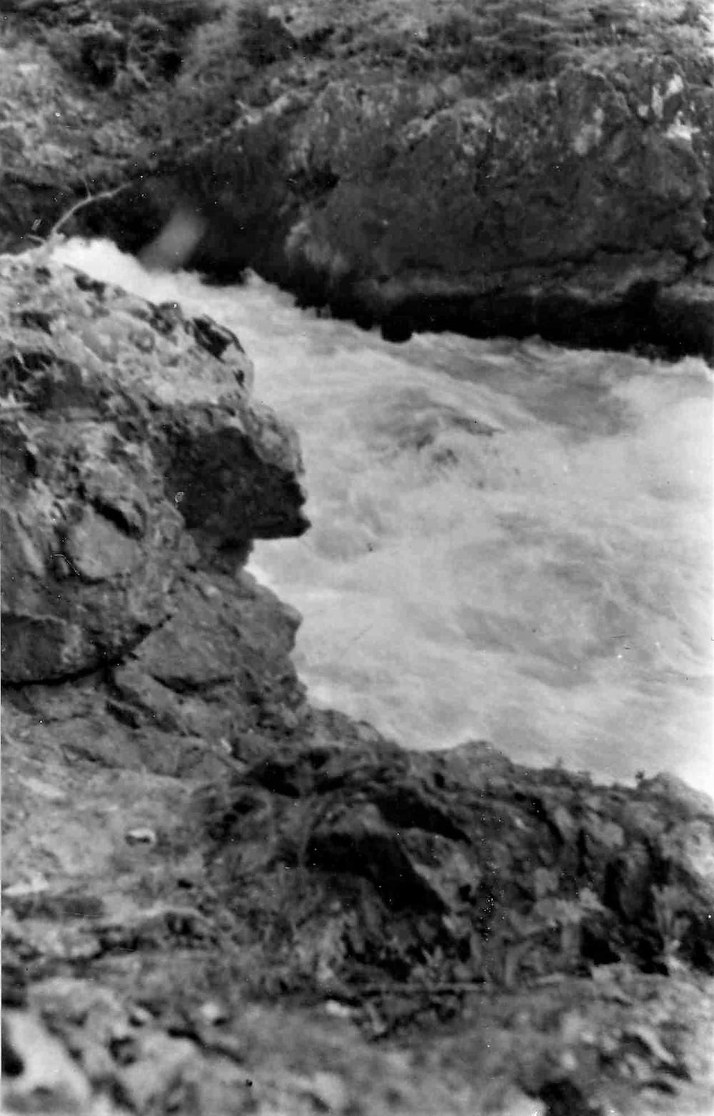 Водопад у горы Фурфур