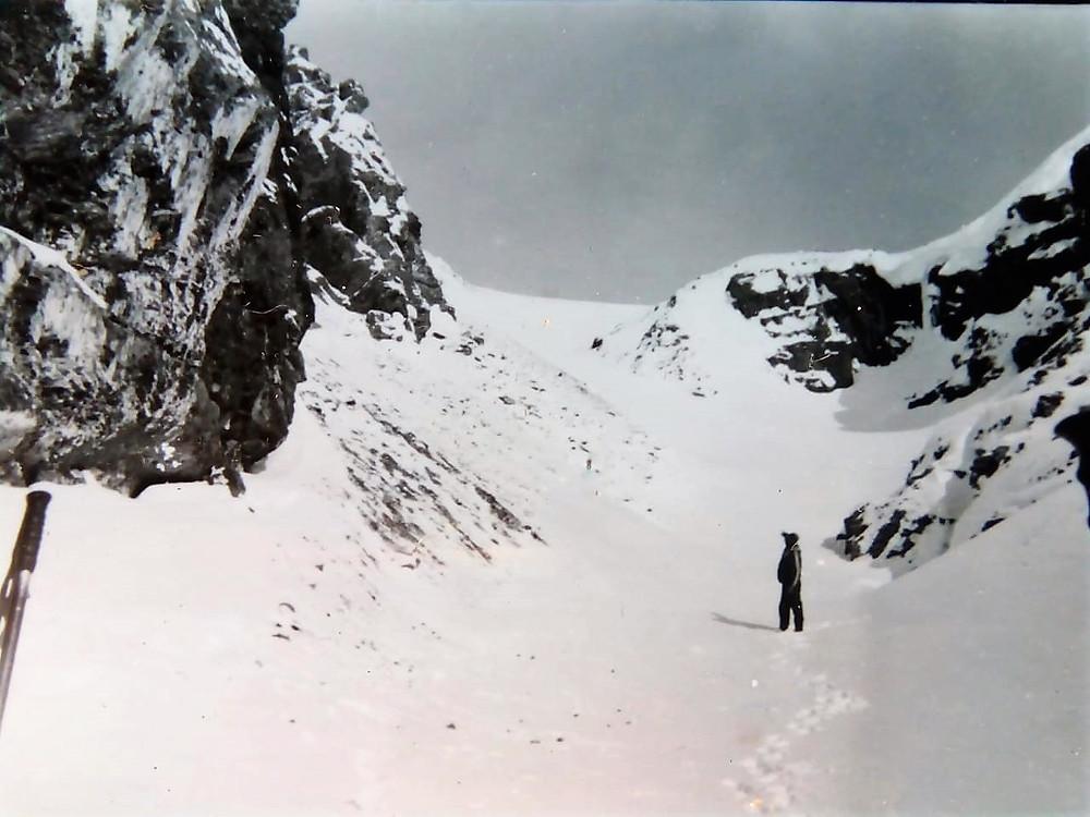 Взлет перед плато| skitour.club| Блог Сергея Чеботова