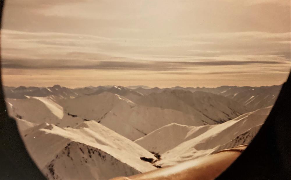 Вид на хребет Баджал с вертолета| skitour.club| Блог Сергея Чеботова