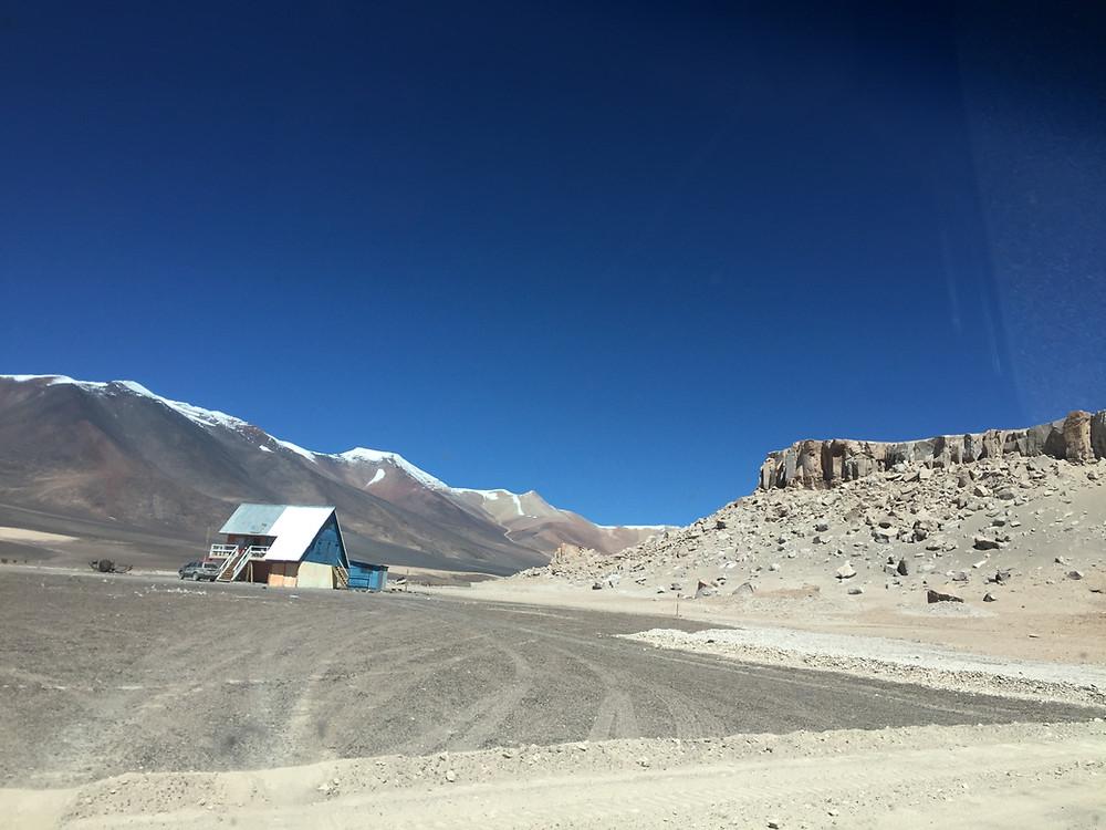 Горный приют в Чили | skitour.club | Блог Сергея Чеботова
