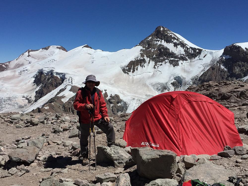 Лагерь Канада в парке Аконкагуа | skitour.club | Блог Сергея Чеботова