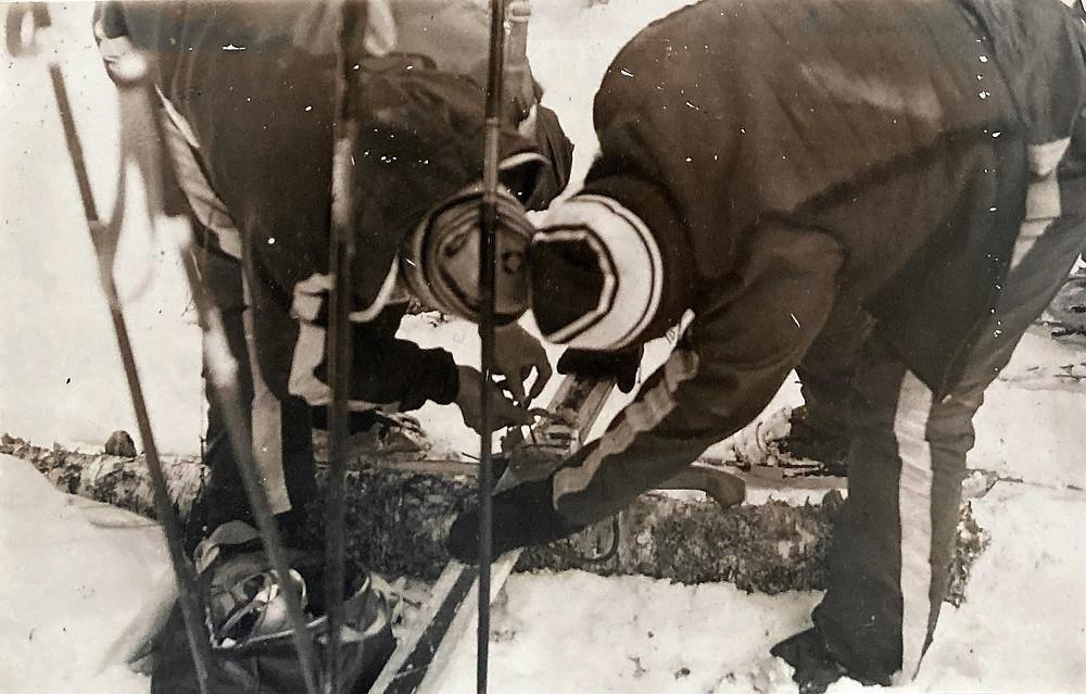 Поломка лыж  skitour.club  Блог Сергея Чеботова