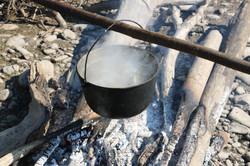 Camp fire