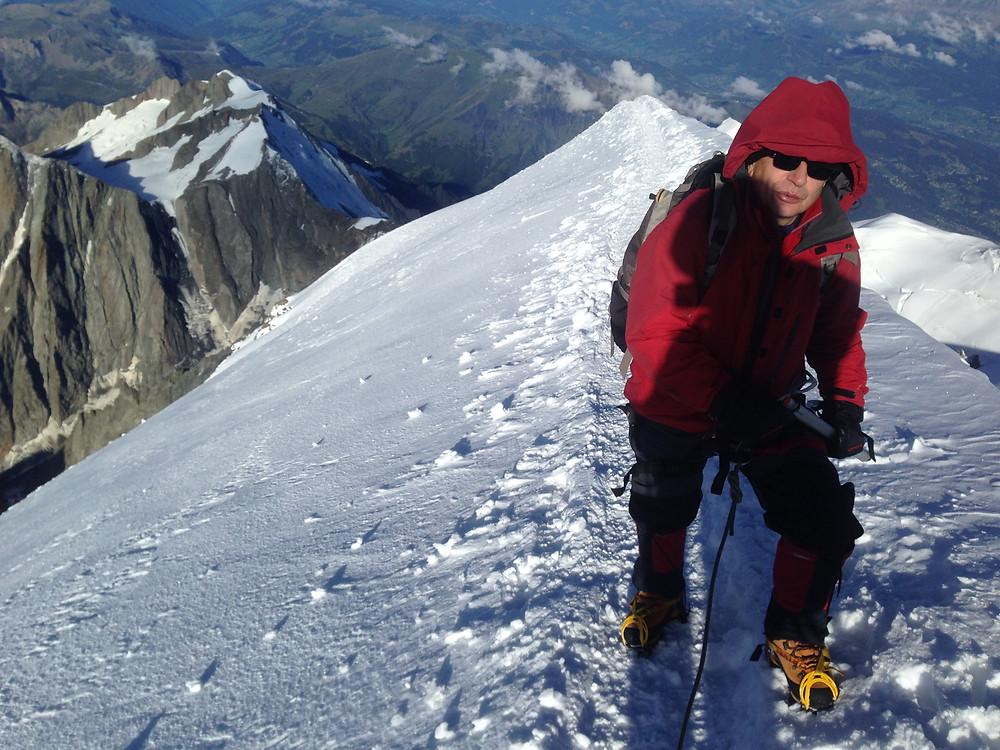 Предвершинный гребень | skitour.club | Блог Сергея Чеботова