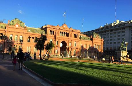 Каса-Росада — официальная резиденция президента Аргентины — Блог Сергея СЧеботова