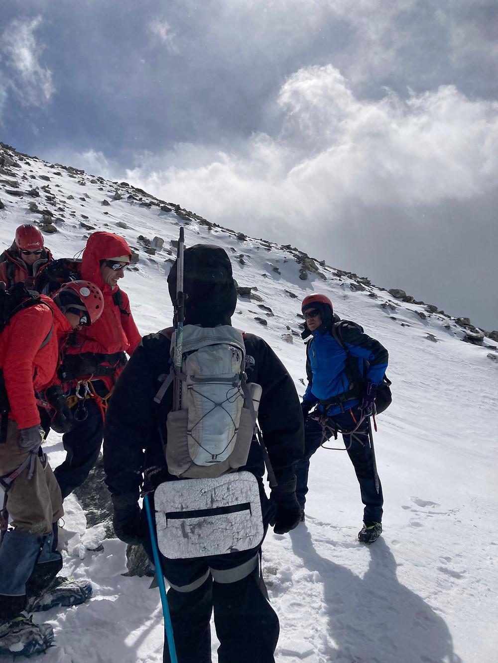 На перевале Караоюк| skitour.club| Блог Сергея Чеботова