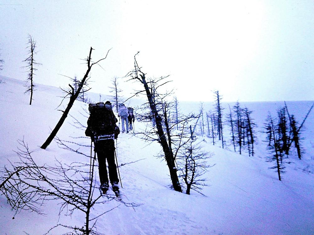 Подход к перевалу| skitour.club| Блог Сергея Чеботова