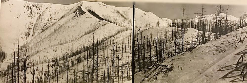Перевал со стороны р. Сонах — Туристический поход в район хребта Дуссе-Алинь 1986 год — Блог Сергея Чеботова