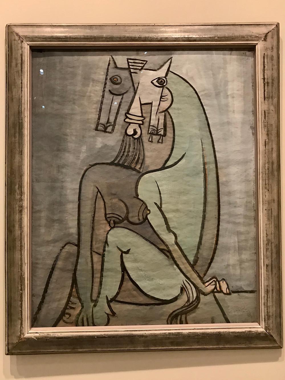 "Кубинец Wifredo Lam - ""Satan"""