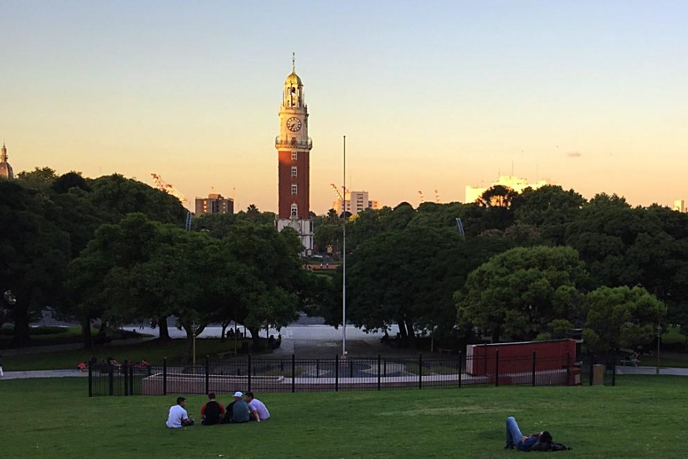 Английская Башня на площади Ретиро — Буэнос-Айрес — Блог Сергея Чеботова