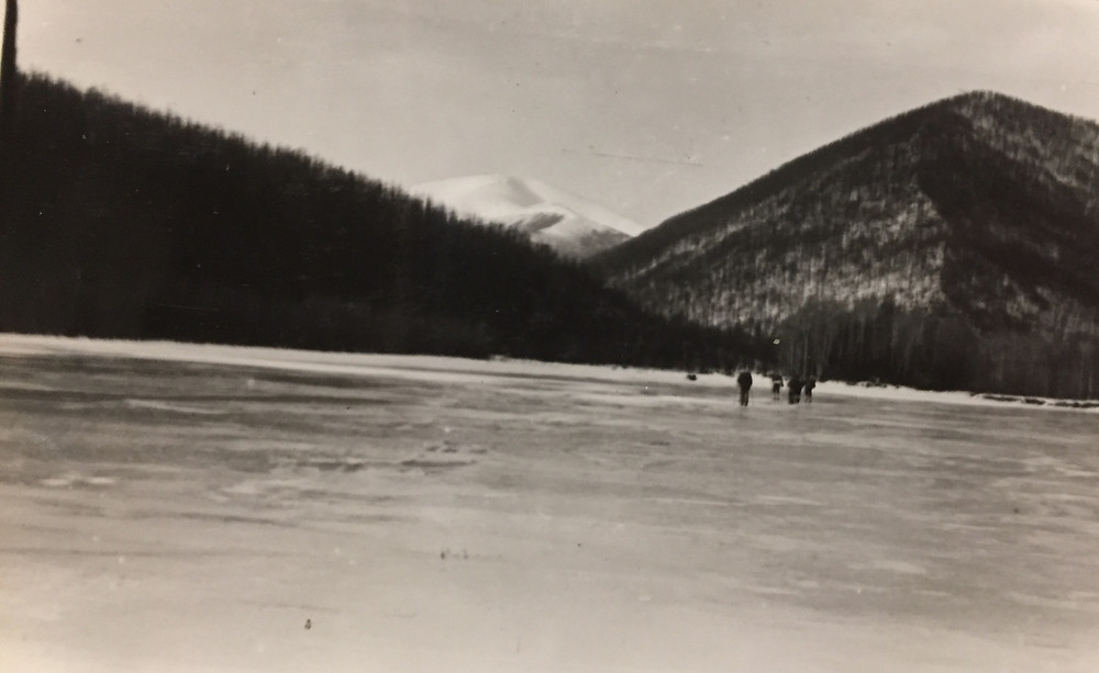 Наледи  на реке| skitour.club| Блог Сергея Чеботова