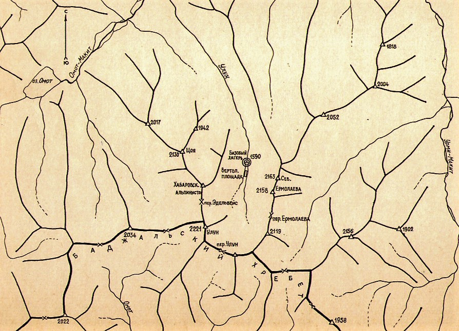 Карты реки Улун| skitour.club| Блог Сергея Чеботова