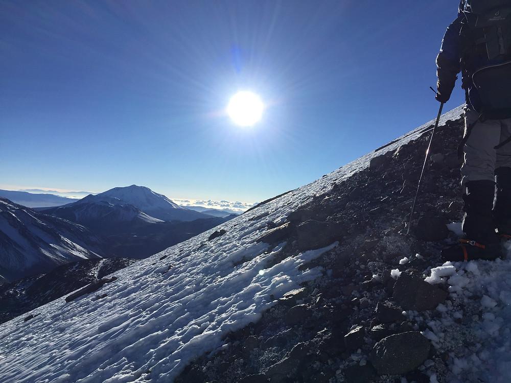 Восхождение на Охос-дель-Саладо | skitour.club | Блог Сергея Чеботова