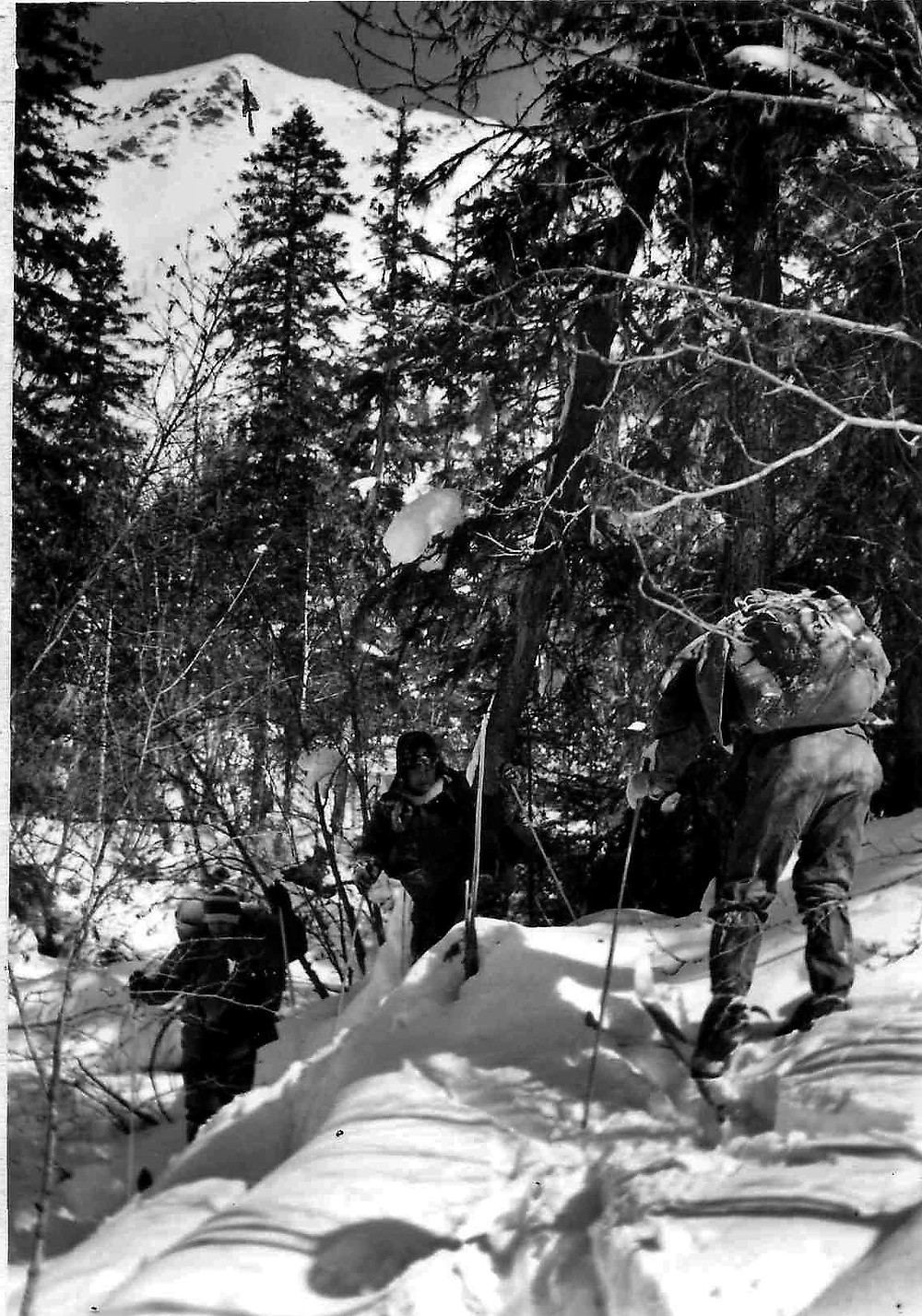Подхем к перевалу  skitour.club  Блог Сергея Чеботова