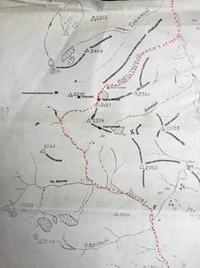 Схема перевала Хабаровский| skitour.club| Блог Сергея Чеботова