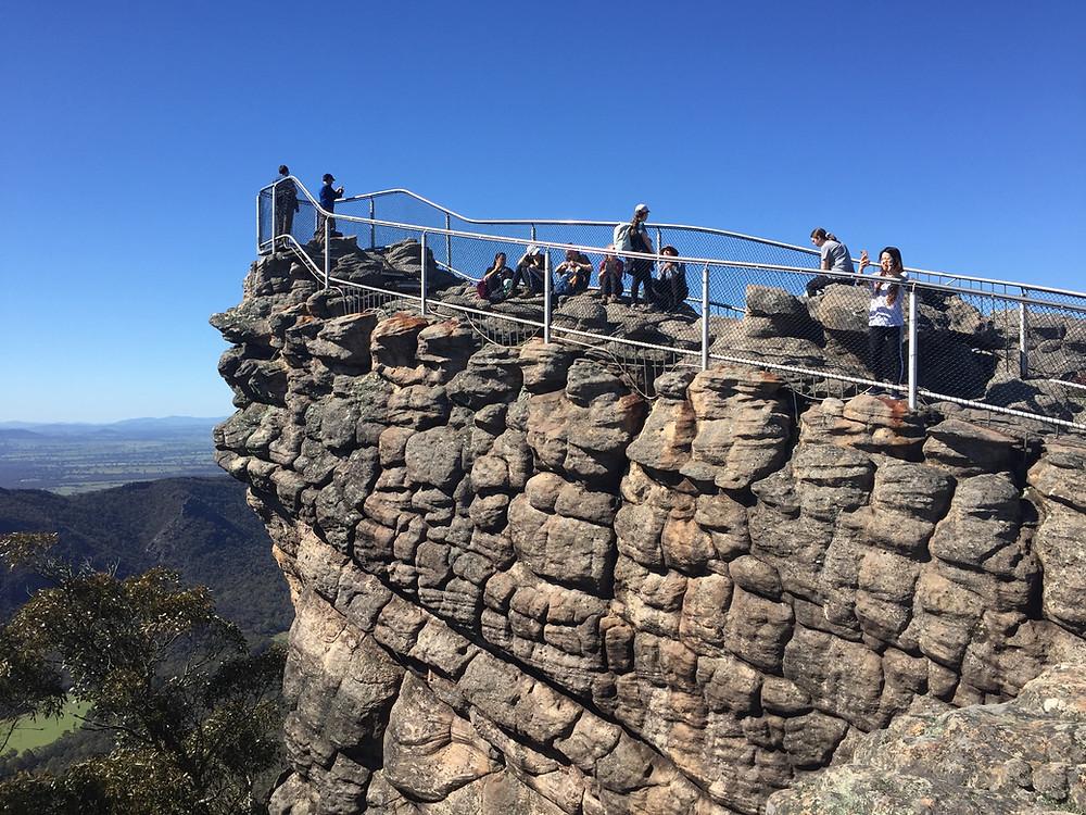 Pinnacle lookout.