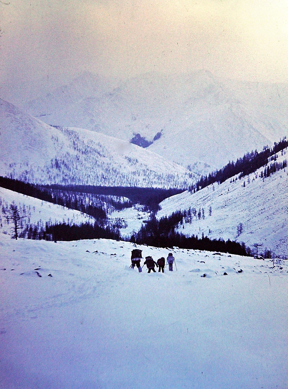 Спуск по морене| skitour.club| Блог Сергея Чеботова