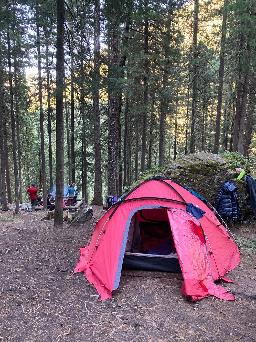 Походный лагерь| skitour.club| Блог Сергея Чеботова