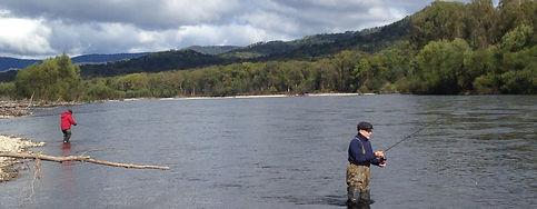 Fishing on Khor river