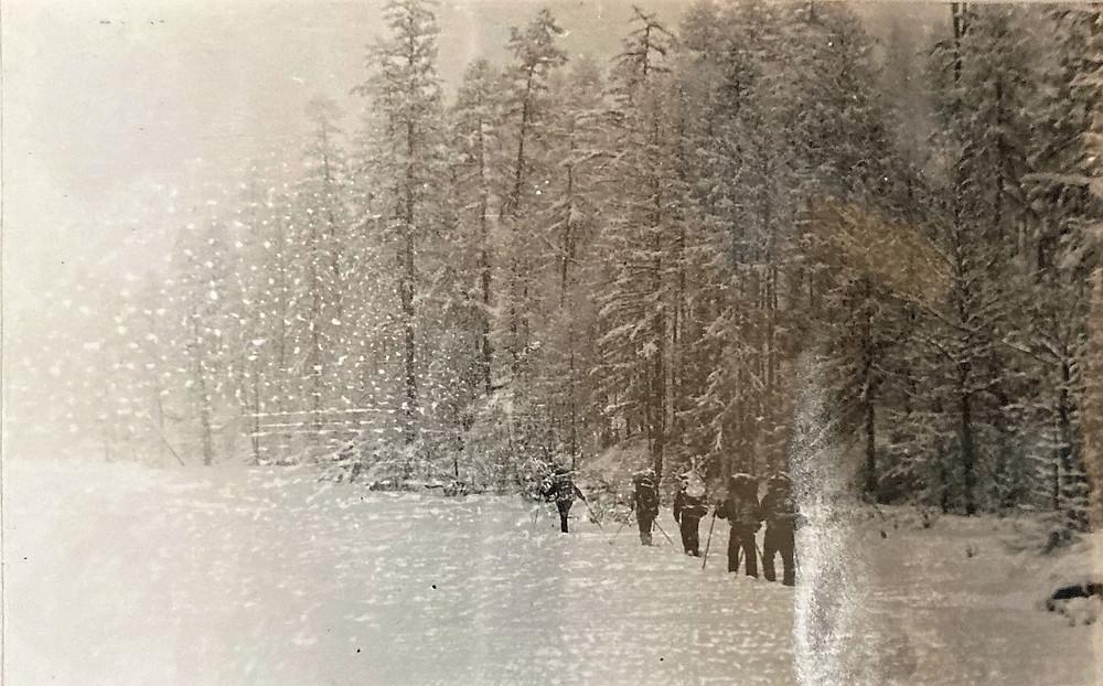 Тропление лыжни| skitour.club| Блог Сергея Чеботова
