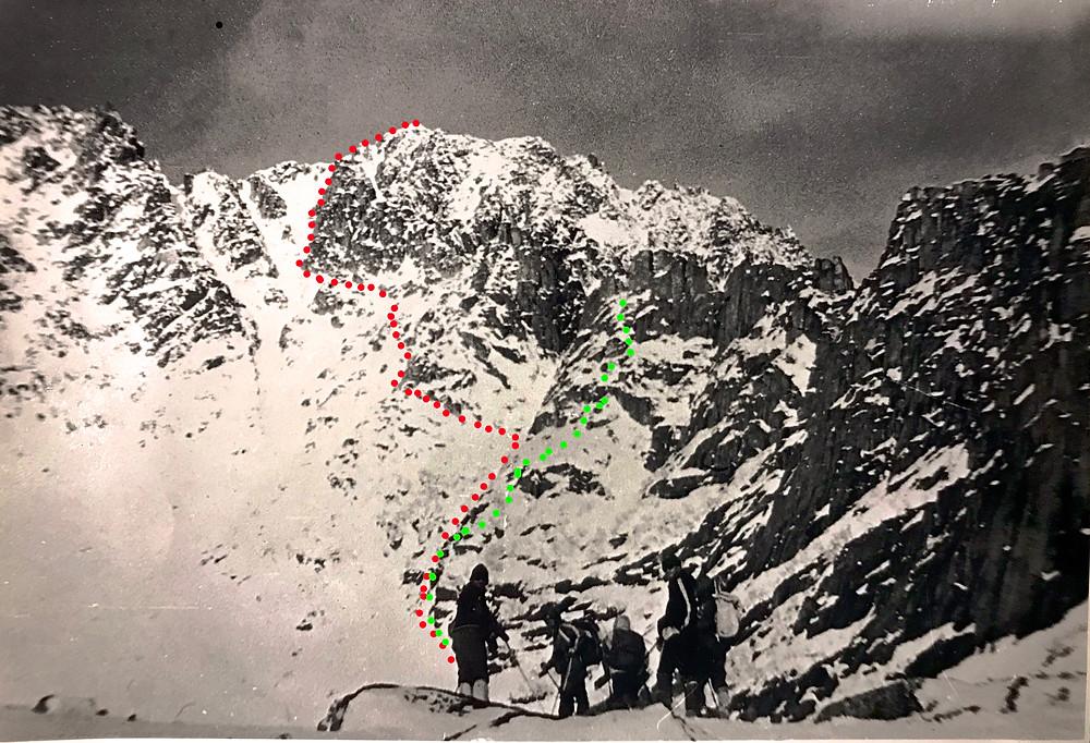 Восхождение на высоту 2078 м — Туристический поход в район хребта Дуссе-Алинь 1986 год — Блог Сергея Чеботова