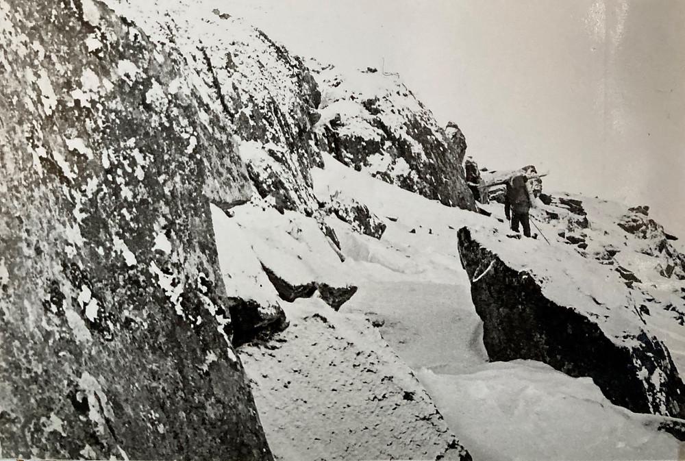 Подъем на перевал Радуга| skitour.club| Блог Сергея Чеботова