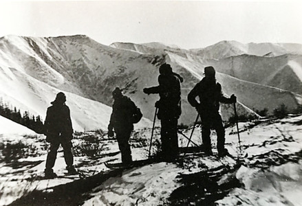 Перевал в р Колбонью — Туристический поход в район хребта Дуссе-Алинь 1986 год — Блог Сергея Чеботова