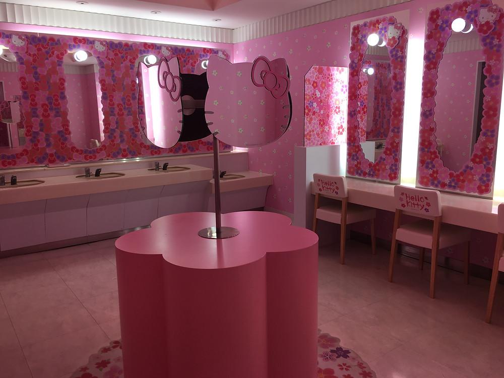 """Туалетная комната """"Hello Kitty"""""""