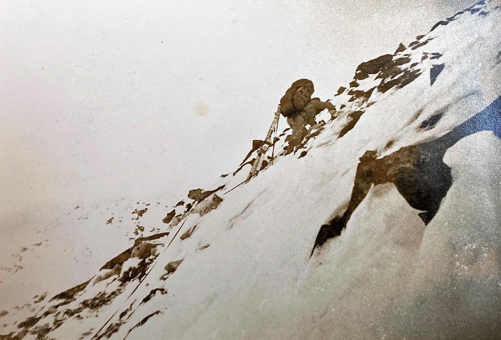 Подъем на перевал Бобруйский| skitour.club| Блог Сергея Чеботова