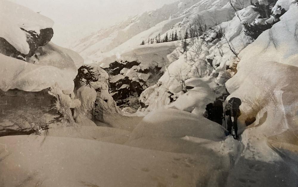 Каньон на р. Сыгыкте| skitour.club| Блог Сергея Чеботова