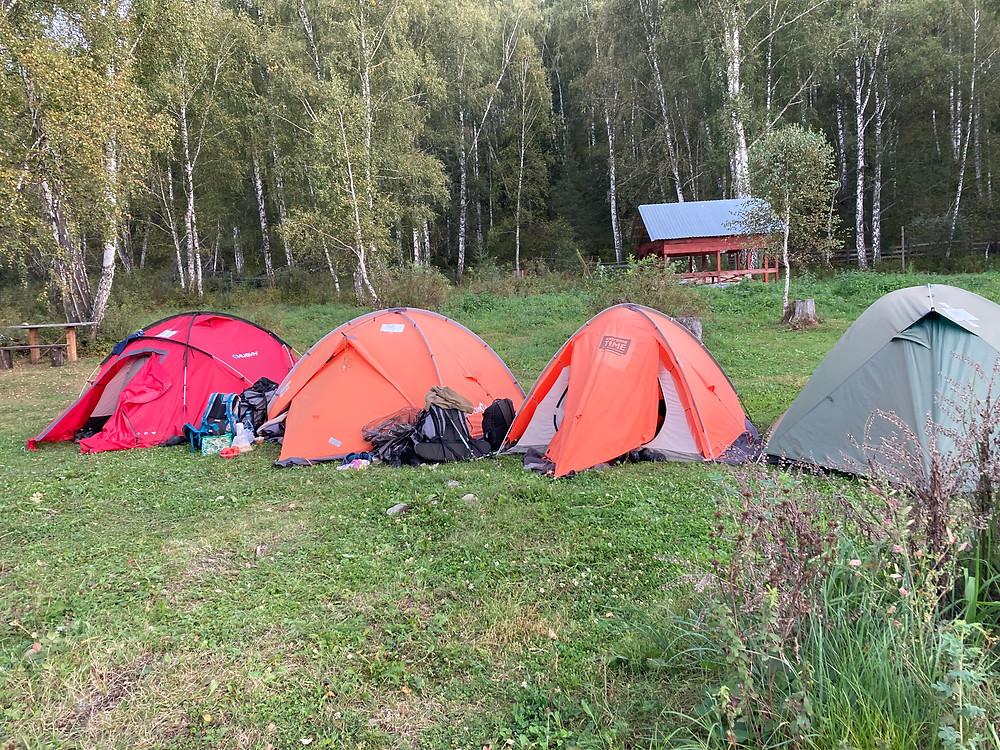 Палаточный лагерь| skitour.club| Блог Сергея Чеботова
