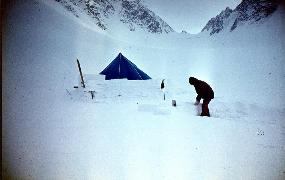Лагерь на леднике Обручева| skitour.club| Блог Сергея Чеботова