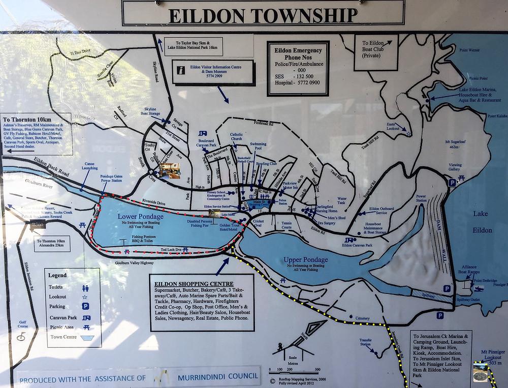 Map of Eildon| skitour.club| Блог Сергея Чеботова