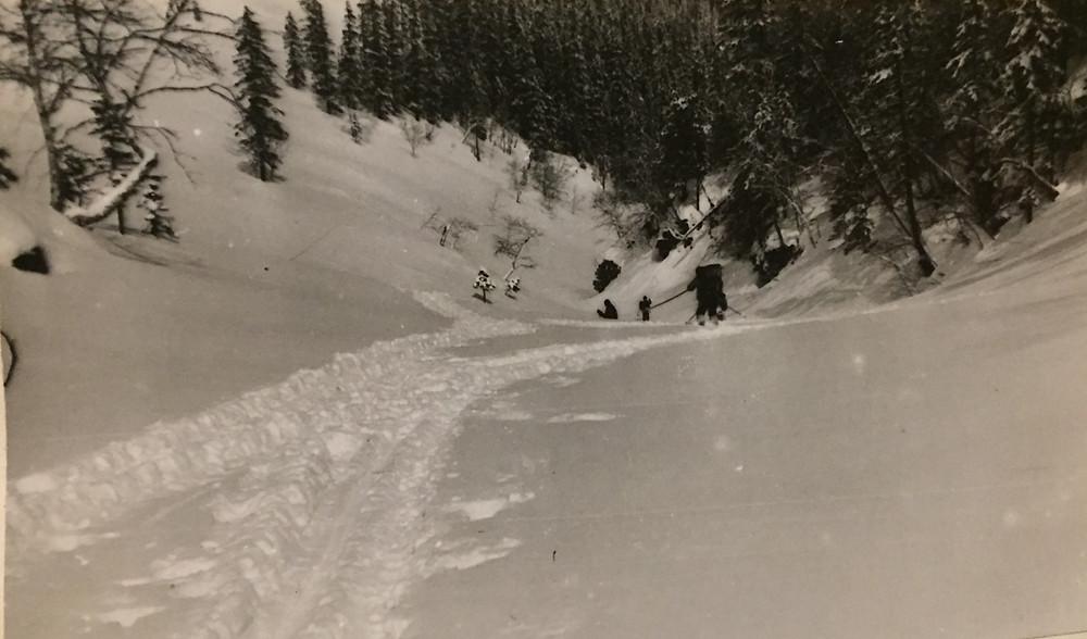 Спуск на лыжах| skitour.club| Блог Сергея Чеботова