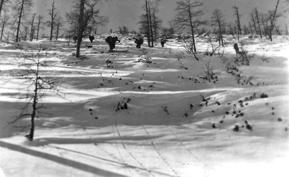 Подъем к перевалу на реку Кути  skitour.club  Блог Сергея Чеботова