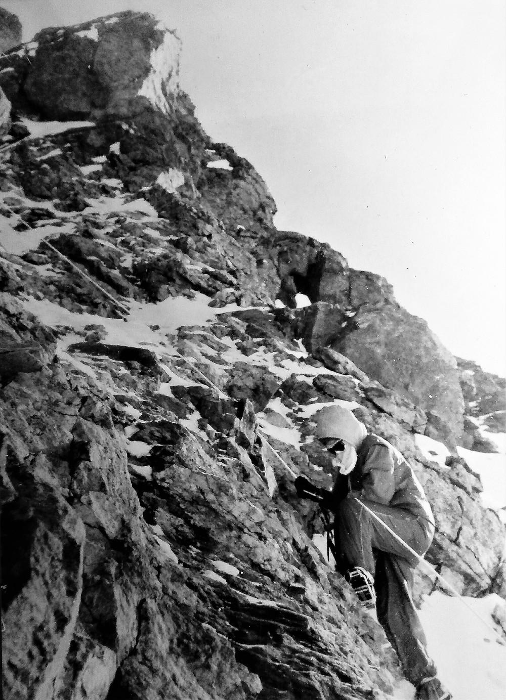 Подъем по перилам| skitour.club| Блог Сергея Чеботова
