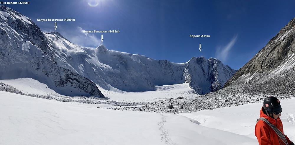 Катунский хребет| skitour.club| Блог Сергея Чеботова