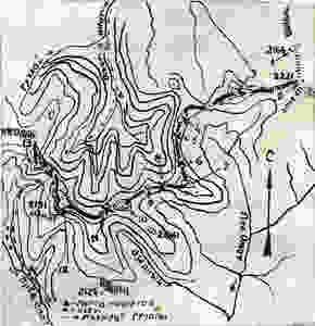 Карта - схема перевалов| skitour.club| Блог Сергея Чеботова