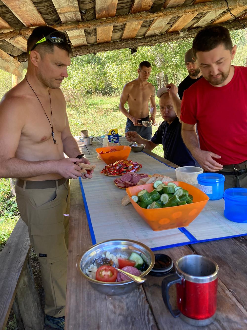Походный обед| skitour.club| Блог Сергея Чеботова